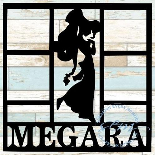 Megara Scrapbook Overlay