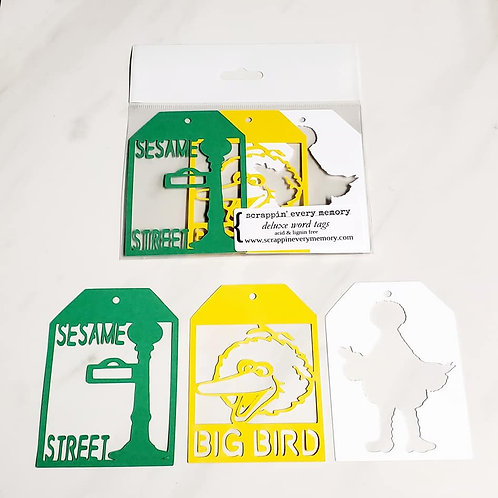 Big Bird Deluxe Word Tags