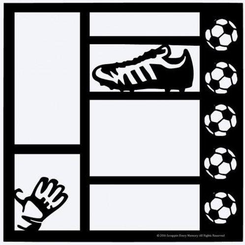 Soccer Scrapbook Overlay