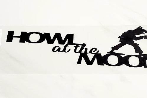 Howl At The Moon Scrapbook Deluxe Die Cut