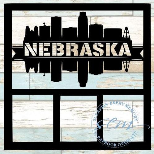 Nebraska Scrapbook Overlay