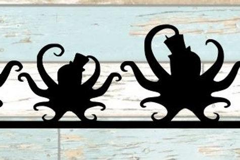 Octopus Scrapbook Border