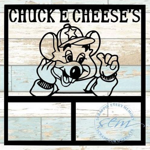 Chuck E. Cheese's Scrapbook Overlay
