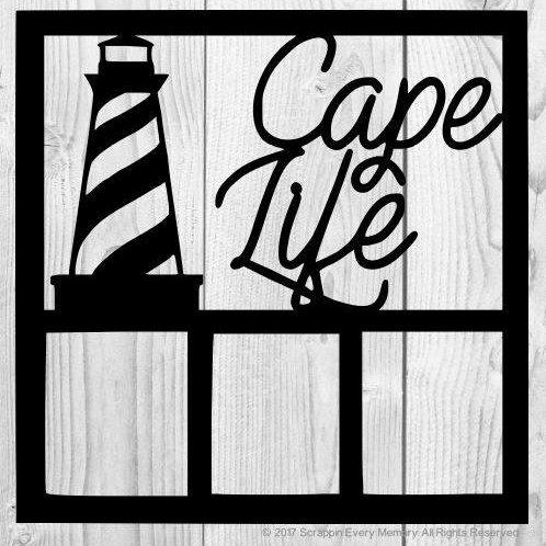 Cape Life Scrapbook Overlay