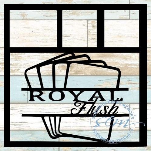 Royal Flush Scrapbook Overlay