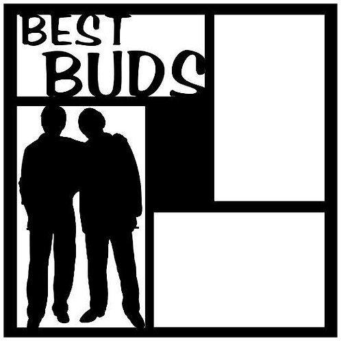 Best Buds Scrapbook Overlay