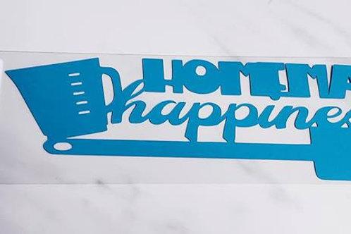 Homemade Happiness Scrapbook Deluxe Die Cut