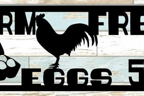 Farm Fresh Eggs Scrapbook Title