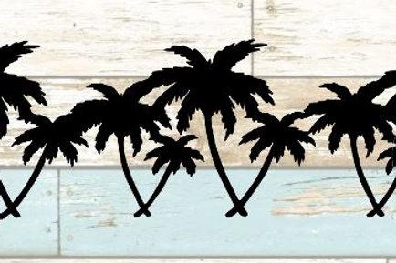 Palm Trees Scrapbook Border