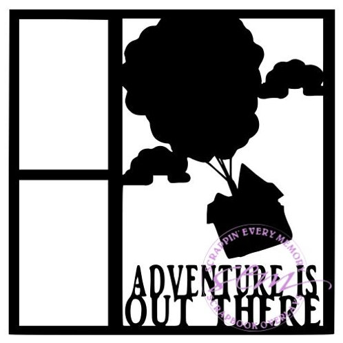 Adventure Is Out There Scrapbook Overlay