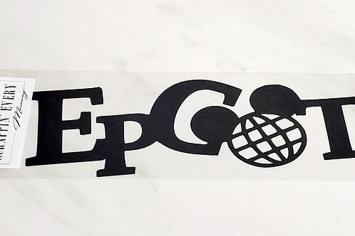 Epcot Scrapbook Deluxe Die Cut