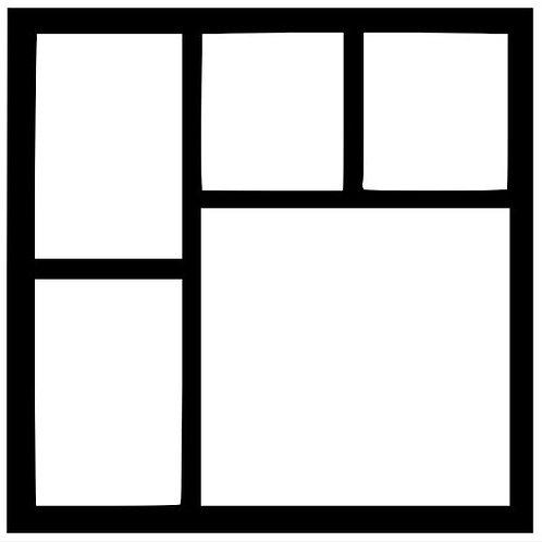 Frame 002 Scrapbook Overlay