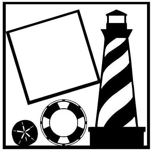 Lighthouse Scrapbook Overlay