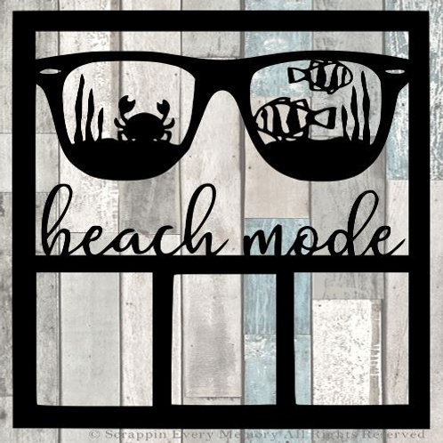 Beach Mode Scrapbook Overlay