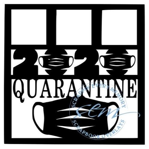 2020 Quarantine Scrapbook Overlay
