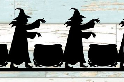 Witches Brew Scrapbook Border