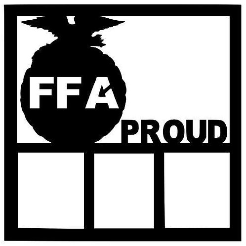 FFA Proud Scrapbook Overlay