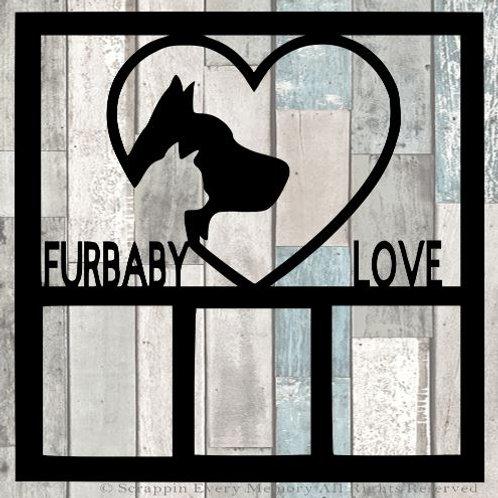 Furbaby Love Scrapbook Overlay