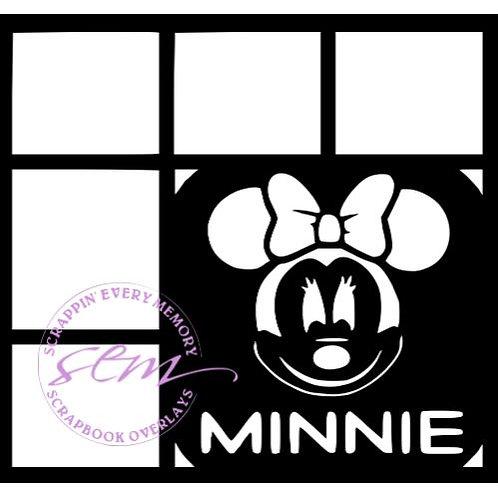 Minnie Scrapbook Overlay