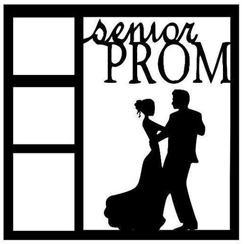 Senior Prom Scrapbook Overlay