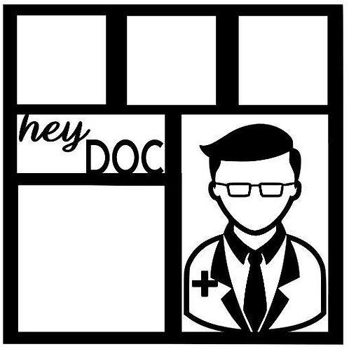 Hey Doc Scrapbook Overlay