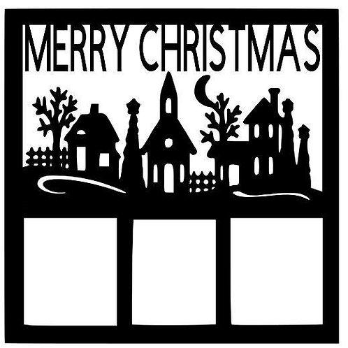 Merry Christmas Scrapbook Overlay