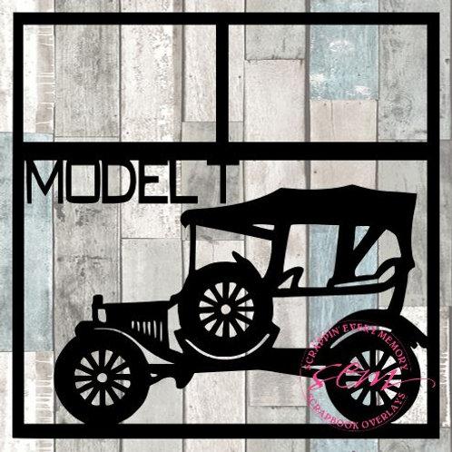 Model T Scrapbook Overlay