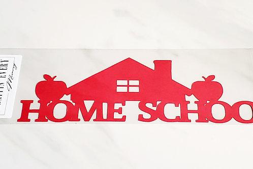 Home School Scrapbook Deluxe Die Cut