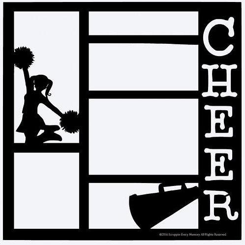 Cheer Scrapbook Overlay
