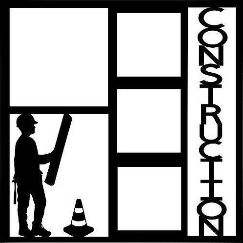 Construction Scrapbook Overlay