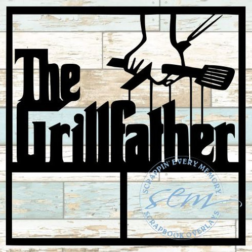 The Grillfather Scrapbook Overlay
