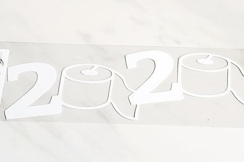 2020 Toilet Paper Scrapbook Deluxe Die Cut