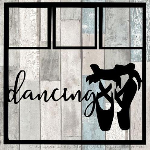 Dancing Scrapbook Overlay