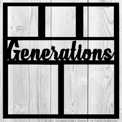 Generations Scrapbook Overlay