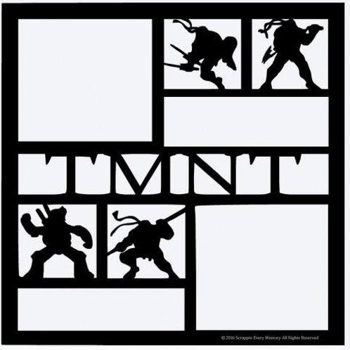 TMNT  Scrapbook Overlay