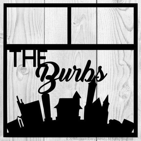 The Burbs Scrapbook Overlay
