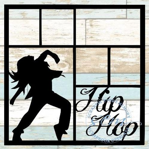 Hip Hop Scrapbook Overlay