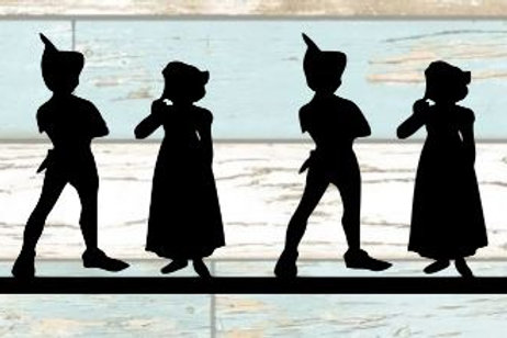 Peter Pan & Wendy Scrapbook Border