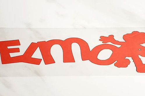 Elmo Scrapbook Deluxe Die Cut