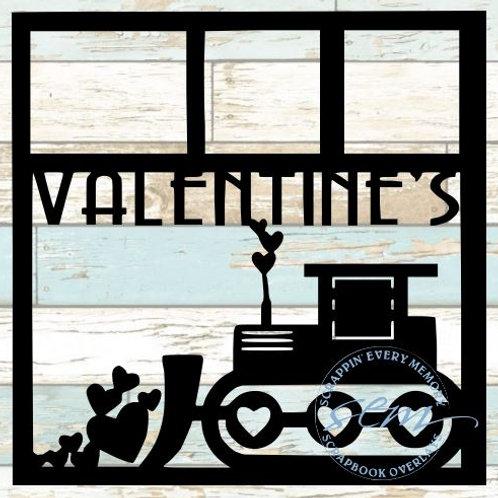 Valentine's Scrapbook Overlay