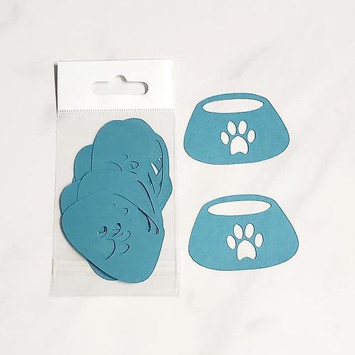 Dog Bowls Itsy Bitsy Embellishments