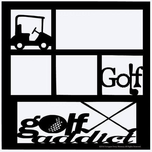 Golf Scrapbook Overlay