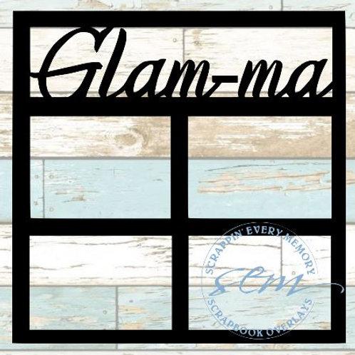 Glam-ma Scrapbook Overlay