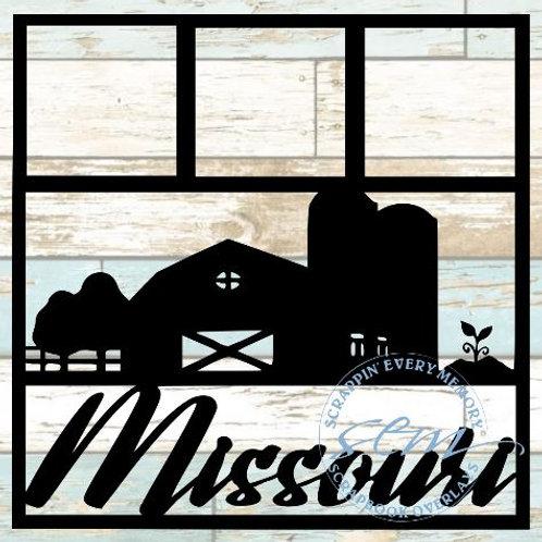 Missouri Scrapbook Overlay