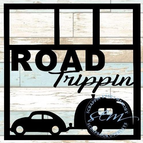 Road Trippin Scrapbook Overlay