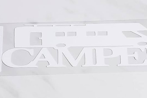 Camper Scrapbook Deluxe Die Cut