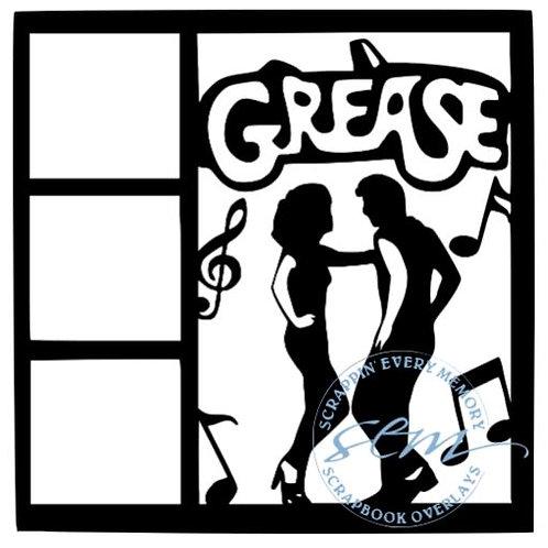 Grease Scrapbook Overlay