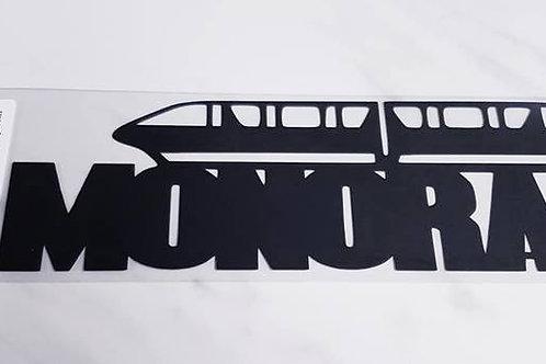 Monorail Scrapbook Deluxe Die Cut