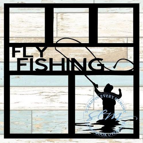 Fly Fishing Scrapbook Overlay