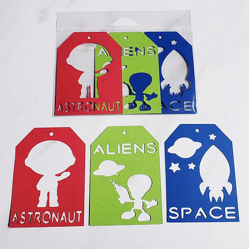 Astronaut Deluxe Word Tags